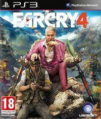 Portada oficial de Far Cry 4 para PS3