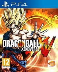 Portada oficial de Dragon Ball Xenoverse para PS4