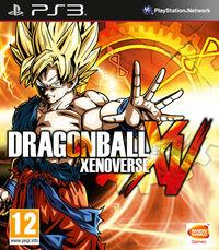 Portada oficial de Dragon Ball Xenoverse para PS3