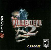 Portada oficial de Resident Evil 2 para Dreamcast
