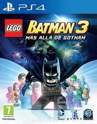 Portada oficial de LEGO Batman 3: Más Allá de Gotham para PS4