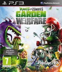 Portada oficial de Plants vs. Zombies: Garden Warfare para PS3