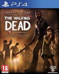 Portada oficial de The Walking Dead: Season One para PS4