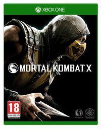 Portada oficial de Mortal Kombat X para Xbox One