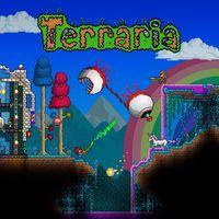 Portada oficial de Terraria para PS4