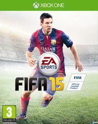 Portada oficial de FIFA 15 para Xbox One