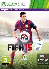 Portada oficial de FIFA 15 para Xbox 360