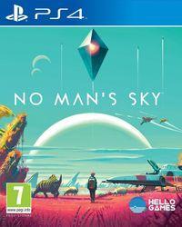 Portada oficial de No Man's Sky para PS4
