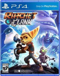 Portada oficial de Ratchet & Clank para PS4