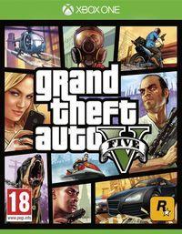 Portada oficial de Grand Theft Auto V para Xbox One