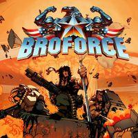 Portada oficial de Broforce para PS4
