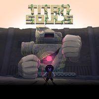 Portada oficial de Titan Souls para PS4