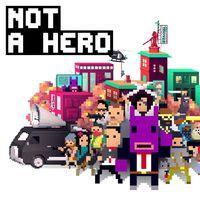 Portada oficial de Not a Hero para PS4
