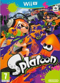 Portada oficial de Splatoon para Wii U