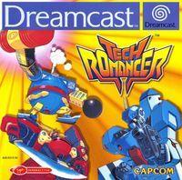 Portada oficial de Tech Romancer para Dreamcast