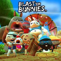 Portada oficial de Blast 'em Bunnies para PS4