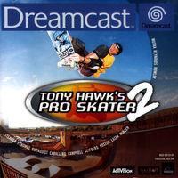 Portada oficial de Tony Hawk's Pro Skater 2 para Dreamcast