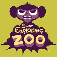 Portada oficial de Super Exploding Zoo para PS4