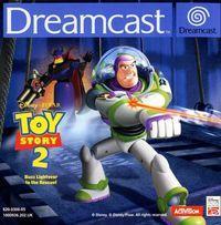 Portada oficial de Toy Story 2 para Dreamcast