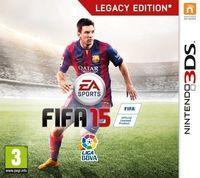 Portada oficial de FIFA 15 para Nintendo 3DS