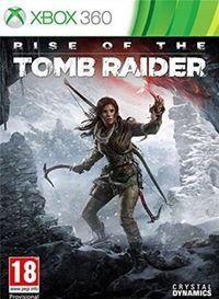 Portada oficial de Rise of the Tomb Raider para Xbox 360