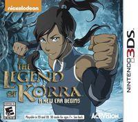 Portada oficial de The Legend of Korra: A New Era Begins para Nintendo 3DS