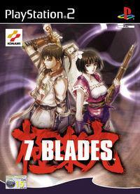 Portada oficial de 7 Blades para PS2