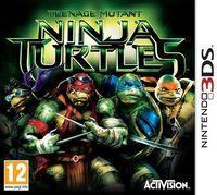 Portada oficial de Teenage Mutant Ninja Turtles: La amenaza del mutágeno para Nintendo 3DS