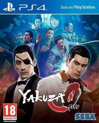 Portada oficial de Yakuza 0 para PS4
