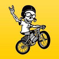 Portada oficial de Skeleton Rider PSN para PSVITA