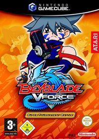 Portada oficial de Beyblade: Super Tournament Battle para GameCube
