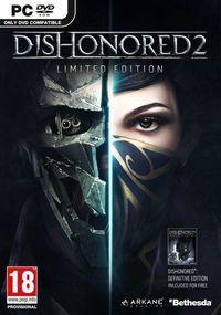 Portada oficial de Dishonored 2 para PC