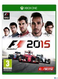 Portada oficial de F1 2015 para Xbox One