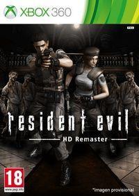 Portada oficial de Resident Evil HD Remaster para Xbox 360