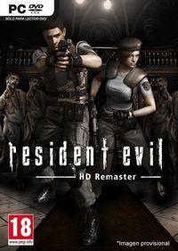 Portada oficial de Resident Evil HD Remaster para PC