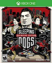 Portada oficial de Sleeping Dogs Definitive Edition para Xbox One