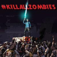 Portada oficial de #killallzombies para PS4