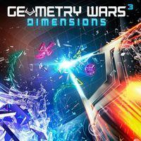 Portada oficial de Geometry Wars 3: Dimensions  para PS4