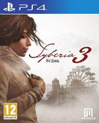 Portada oficial de Syberia 3 para PS4
