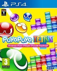 Portada oficial de Puyo Puyo Tetris para PS4