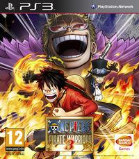Portada oficial de One Piece: Pirate Warriors 3 para PS3