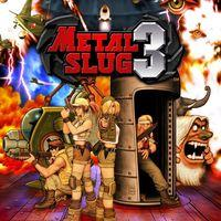 Portada oficial de Metal Slug 3 para PS4