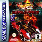 Portada oficial de Hot Wheels World Race para Game Boy Advance