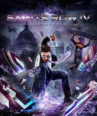 Portada oficial de Saints Row IV: Re-elected para PS4