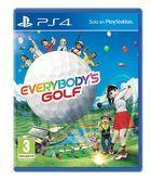 Portada oficial de de Everybody's Golf para PS4