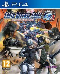 Portada oficial de Earth Defense Force 4.1: The Shadow of New Despair para PS4