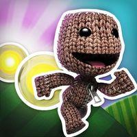 Portada oficial de Run Sackboy! Run! para iPhone