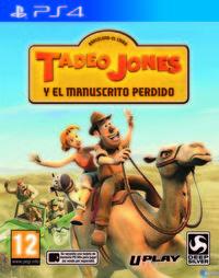 Portada oficial de Tadeo Jones y el manuscrito perdido para PS4