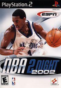 Portada oficial de ESPN NBA 2Night 2002 para PS2