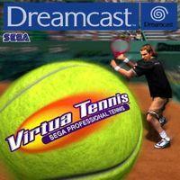 Portada oficial de Virtua Tennis para Dreamcast